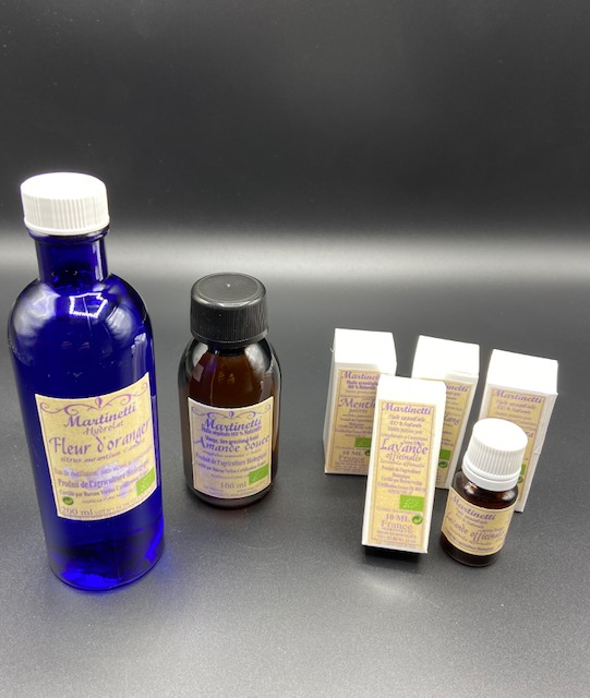 Huiles essentielles et cosmétiques bio