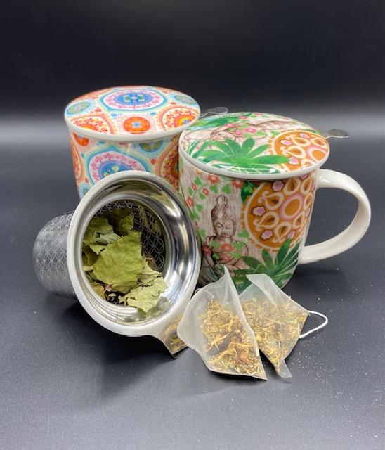 Tisanes, thés et accessoires